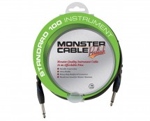 Monster Cable Standard 100 Instrument Cable 21 ft Angled to Straight Plugs