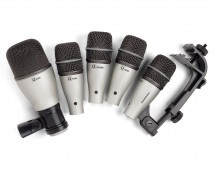 SAMSON 5 PIECE DRUM MIC KIT